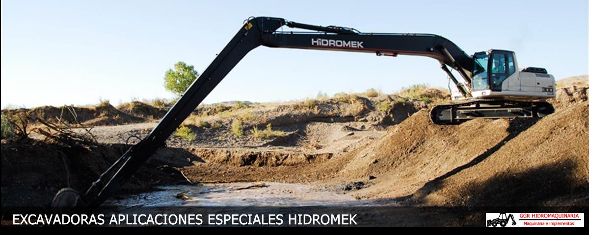 Excavadoras Aplicaciones especiales